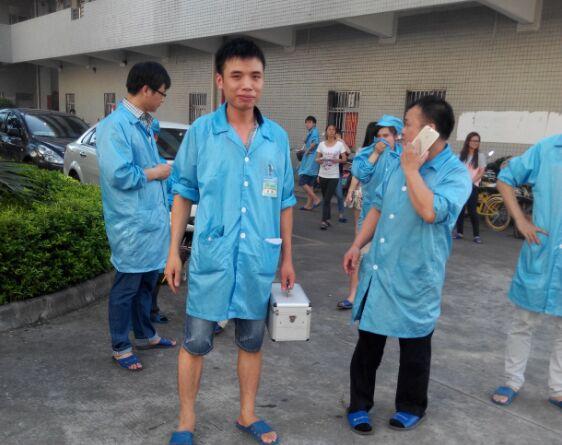 财富之舟惠州工厂2015上半年度消防演习